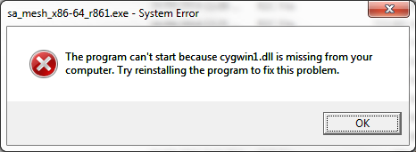 cygwin1 dll